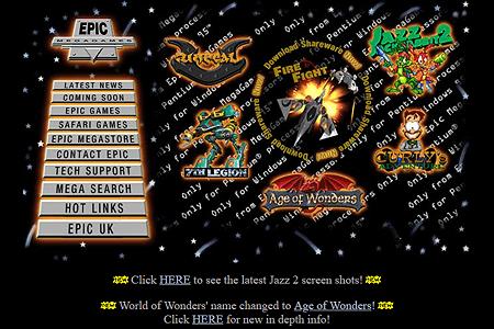 Space Jam in 1996   Web Design Museum