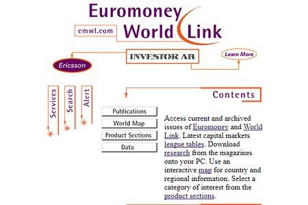 Euromoney World Link in 1996