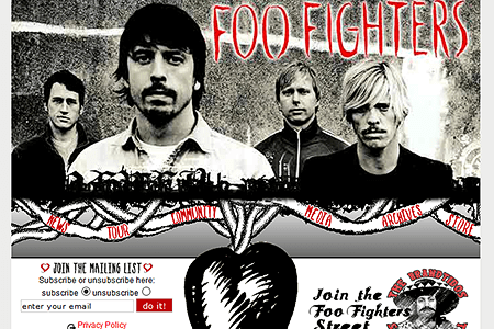 Foo Fighters in 2003