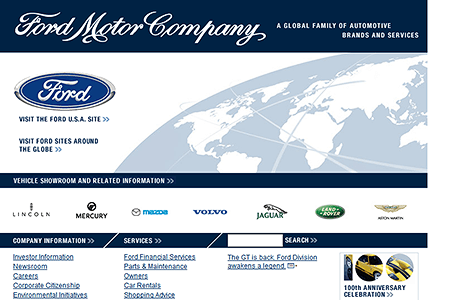 Ford Motor Company in 2002