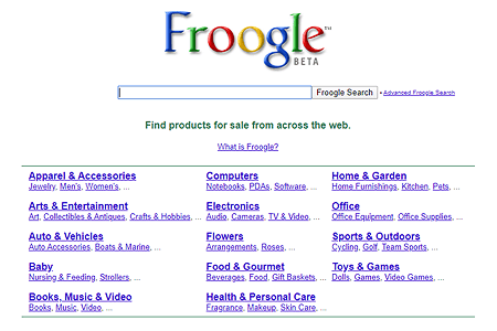 Froogle in 2003
