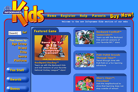 Fun Kids Games 2003