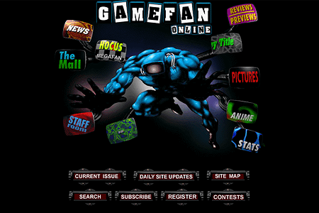 Game Fan Magazine in 1996