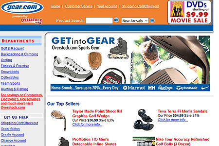 Gear Overstock in 2002