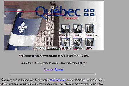 Government of Québec in 1995
