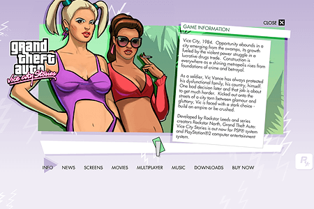 Grand Theft Auto Vice City Stories in 2006