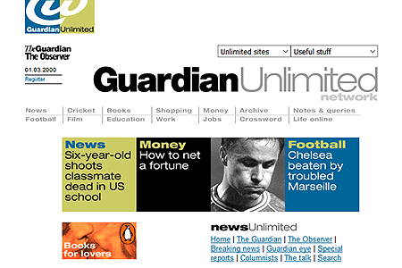 Guardian Unlimited 2000