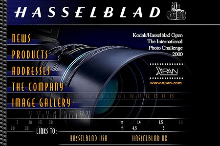 Hasselblad in 2000