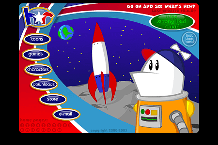 Homestar Runner in 2000