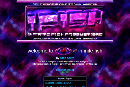 Infinite Fish in 1997