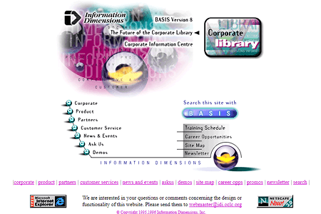 Information Dimensions in 1997