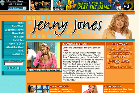 Jenny Jones in 2002