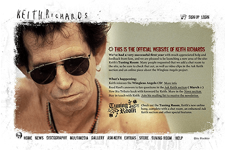 Keith Richards in 2003