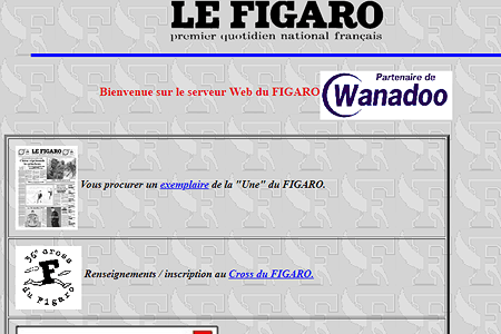 Le Figaro in 1996