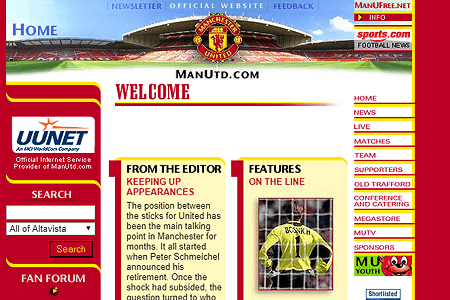 Manchester United F.C. in 1999