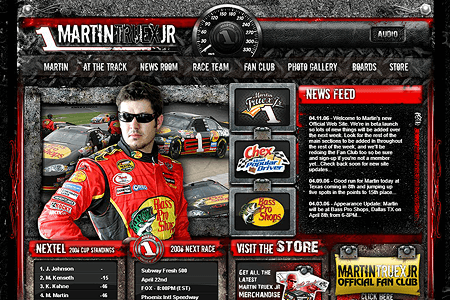 Martin Truex in 2006