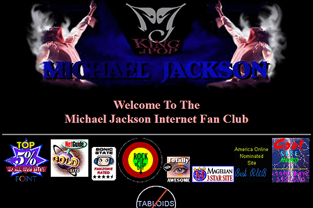 Michael Jackson Fan Club in 1997
