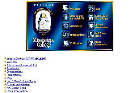 Mississippi College in 1995
