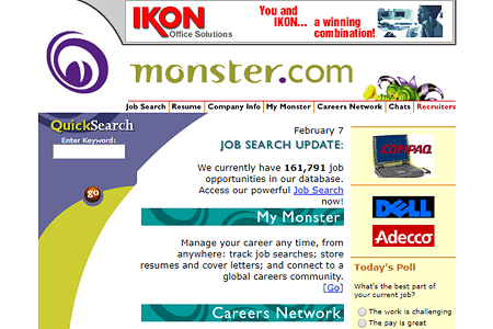 Monster in 1999
