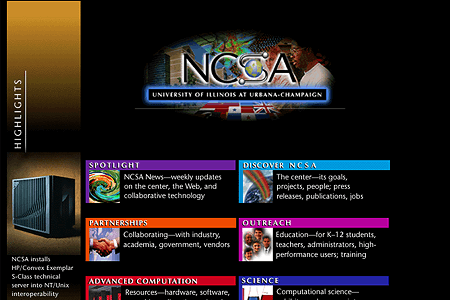 NCSA in 1996