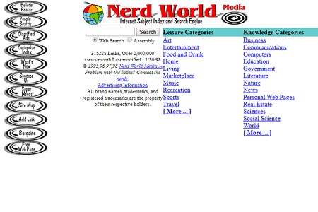 Nerd World in 1998