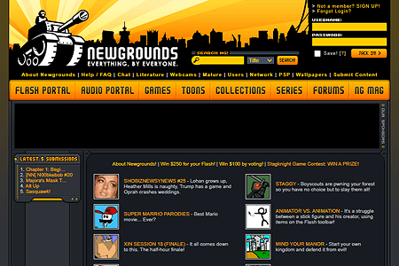 Newgrounds in 2006