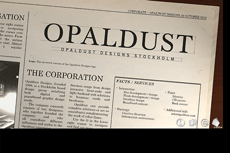 Opaldust Designs in 2001