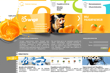 Orange on Web 2006