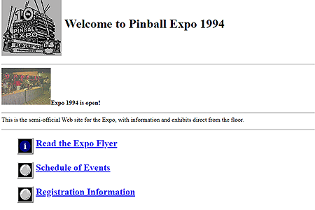 Pinball Expo 1994 in 1994