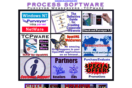 Process Software Corporation in 1996