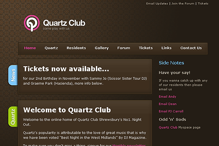 Quartz Club in 2006