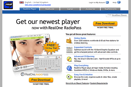 RealOne Player 2003