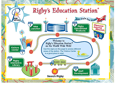 Rigby's Education Station in 1996
