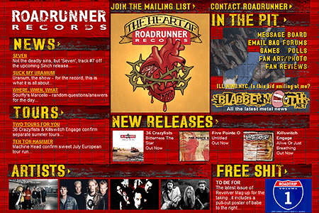 Roadrunner Records in 2002