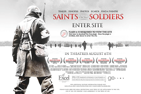 Saints and Soldiers in 2004