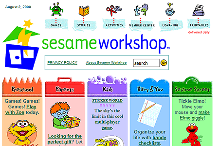 Sesame Workshop 2000