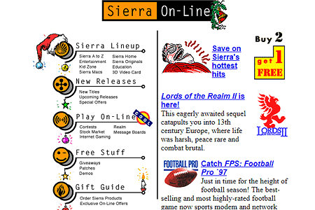 Sierra On-line in 1996