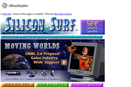 Silicon Graphics in 1995