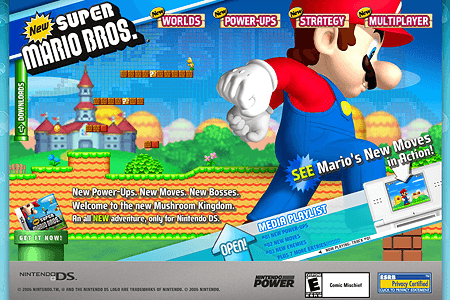 New Super Mario Bros. in 2006