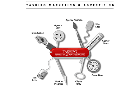 Tashiro Marketing & Advertising in 1996