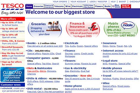 Tesco in 2004