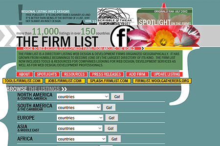 The Firm List in 2002