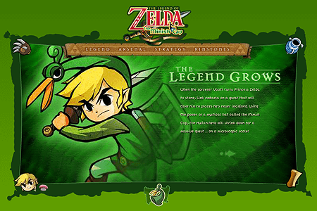 The Legend of Zelda: The Minish Cap in 2005