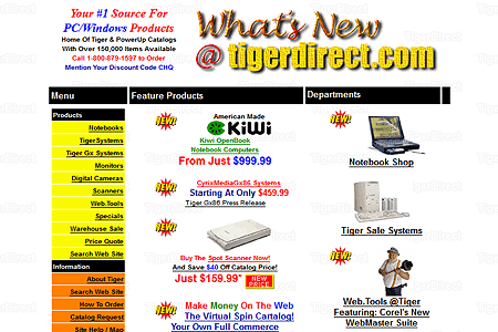 Tigerdirect.com 1997