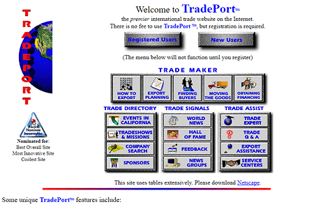 TradePort in 1995