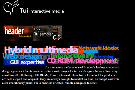 Tui Interactive Media in 1997