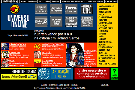 Universo Online in 1998