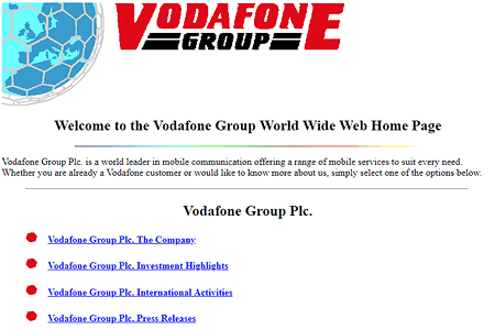 Vodafone Group 1995