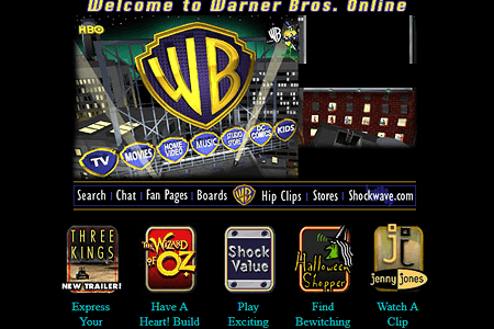 Warner Bros in 1999