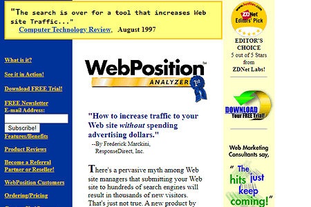 WebPosition in 1998